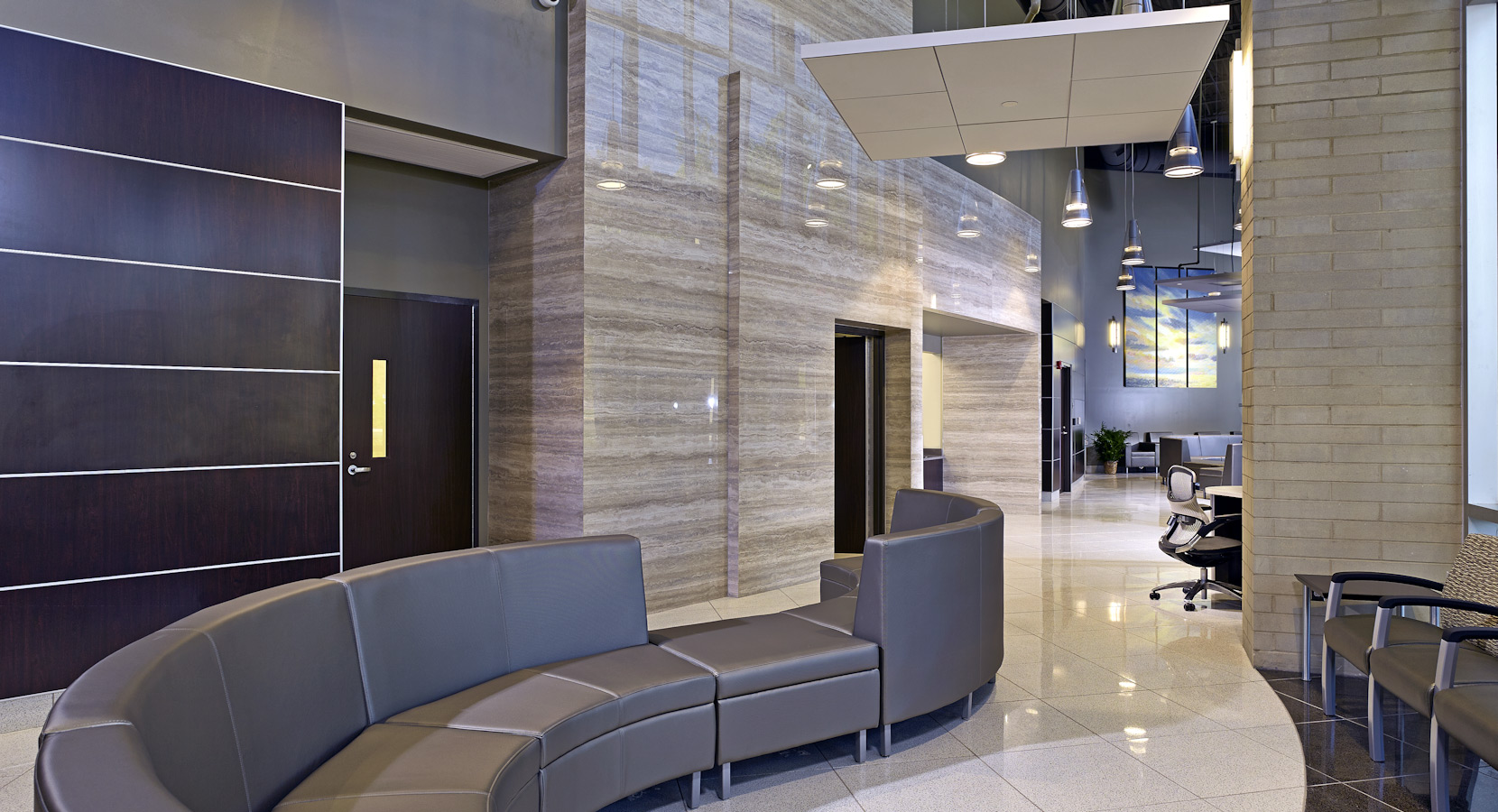Birmingham commercial interior design by design innovations for Corporate interior design