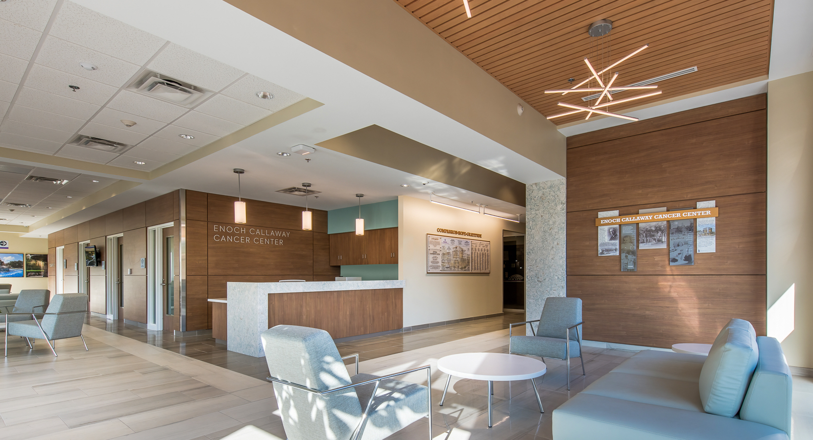 Wellstar West Georgia Medical Center Cancer Center Lobby