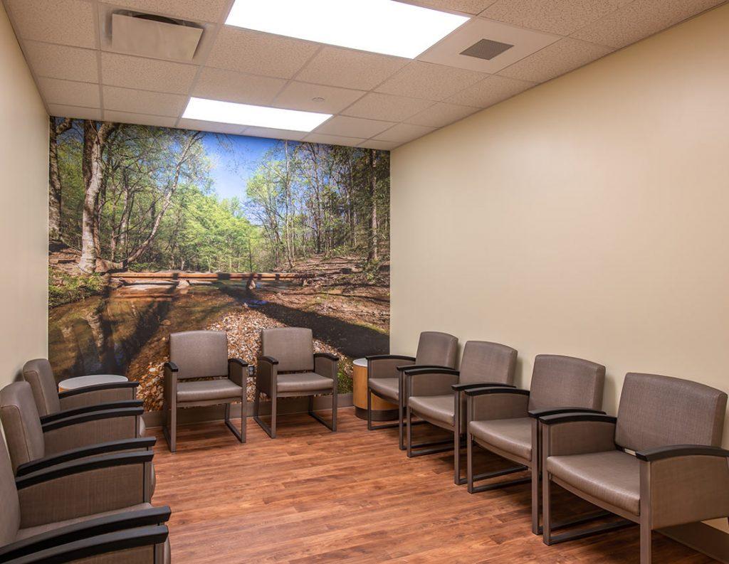 Waiting Area at Prattville Baptist Hospital's Geriatric Behavioral Health Wing